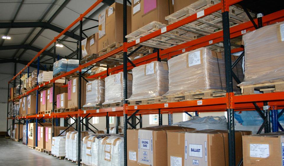 Storage of plastic packaging in Wales